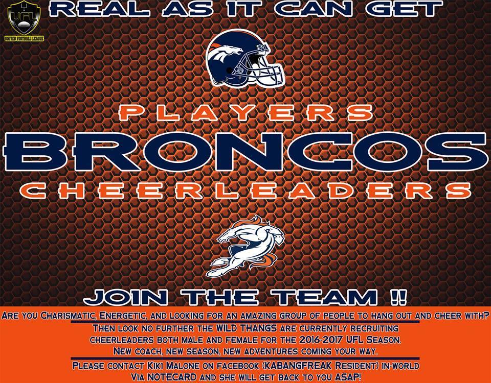 Broncos Wild Thangs