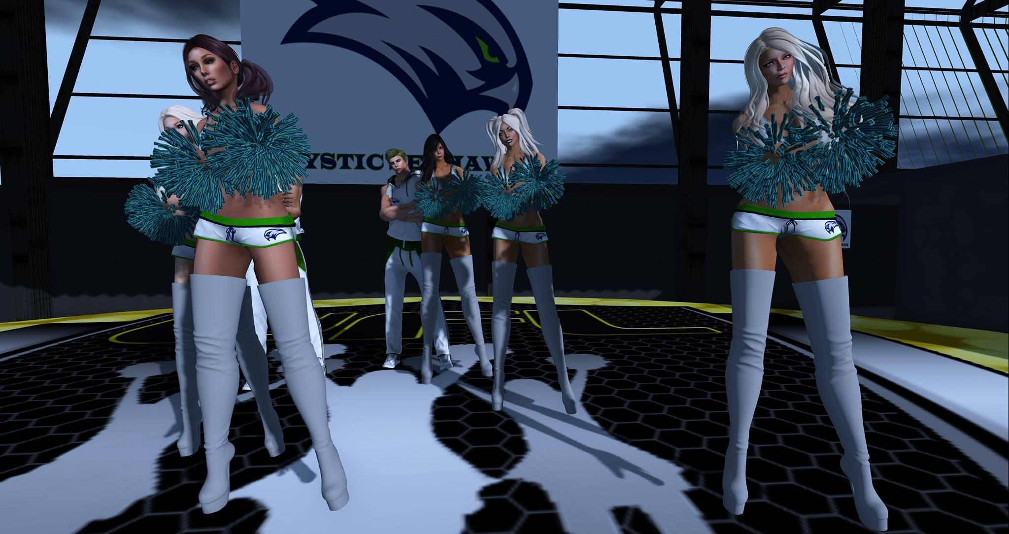 Mystic Seahawks Cheerleaders